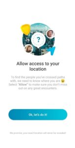Happn dating site can access your location.